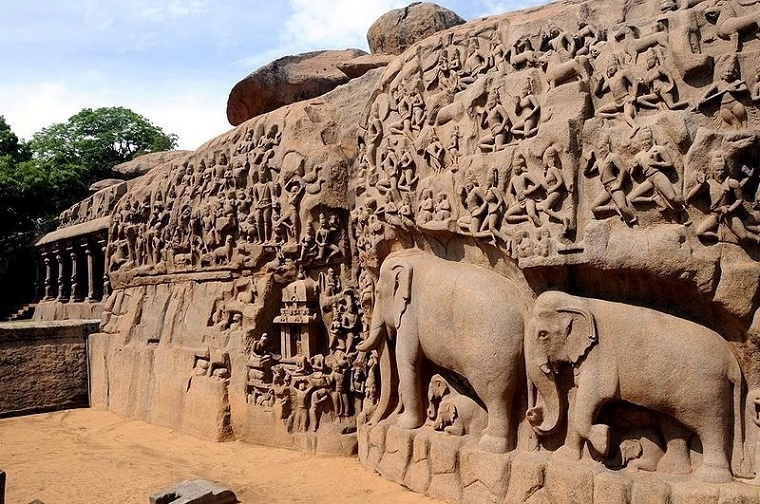 reisefieber-reisen-indien-descent-of-the-ganges-Mahabalipuram